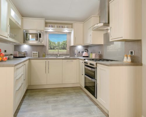 Willerby Aspen kitchen Dinas Country Club
