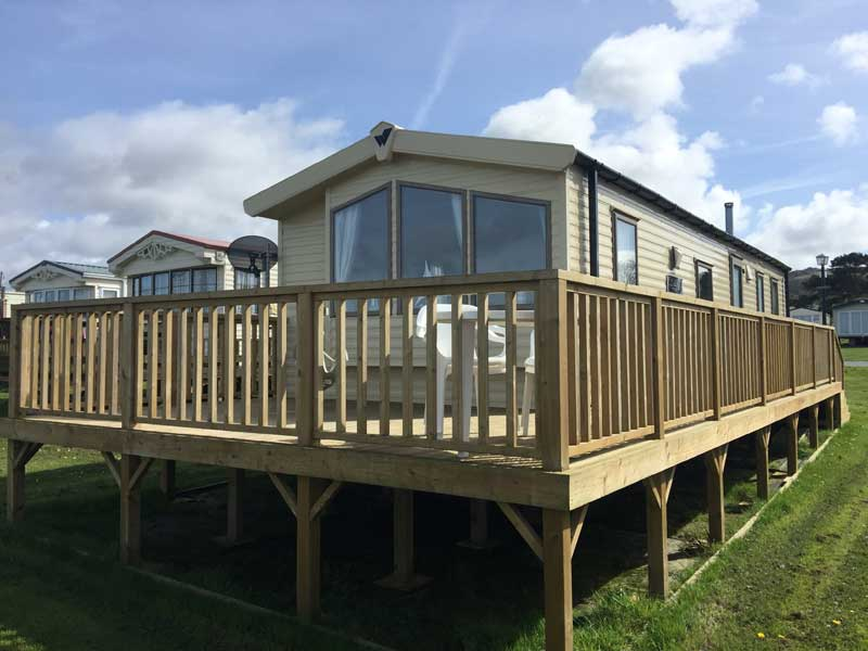 2014 Willerby Salsa Eco 2 Bedroom Caravan with veranda