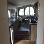 2014 Willerby Salsa Eco 2 Bedroom Caravan hallway looking through to lounge