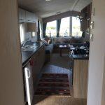 2014 Willerby Salsa Eco 2 Bedroom Caravan hallway looking through to lounge