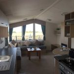 2014 Willerby Salsa Eco 2 Bedroom Caravan spacious lounge and pull out sofa bed