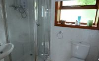 WC and shower cubicle old chapel cottage self catering accommodation
