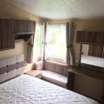 Willerby Holiday Home Caravan For Sale Dinas Country Club bedroom