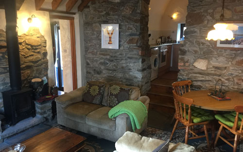old chapel cottage dinas country club lounge