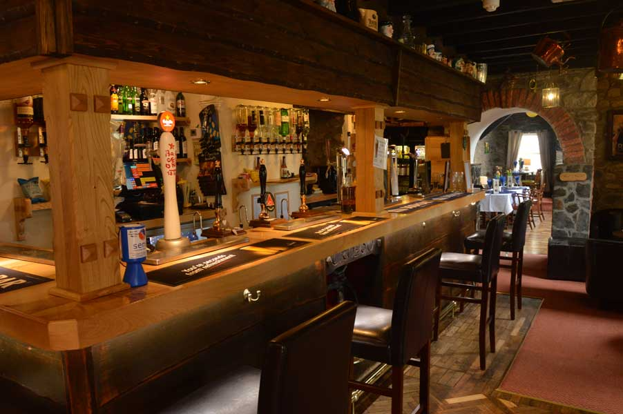 Our clubhouse bar offering a fine selection of meals and drinks